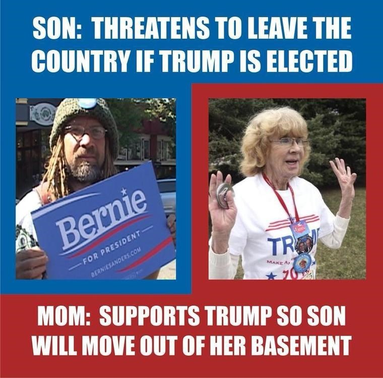 donald trump election parenting bernie sanders - 8796759296