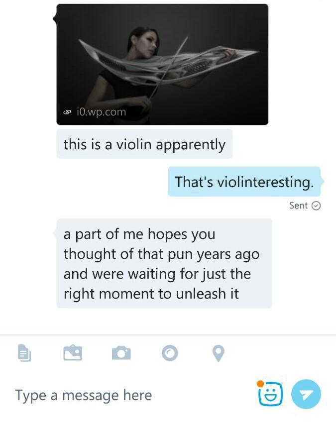 text puns violin - 8796772096