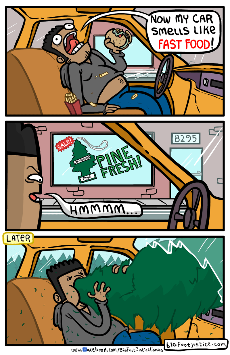 car eating funny web comics
