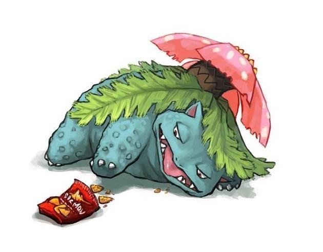 lazy funny Pokémon venasaur - 8796845568