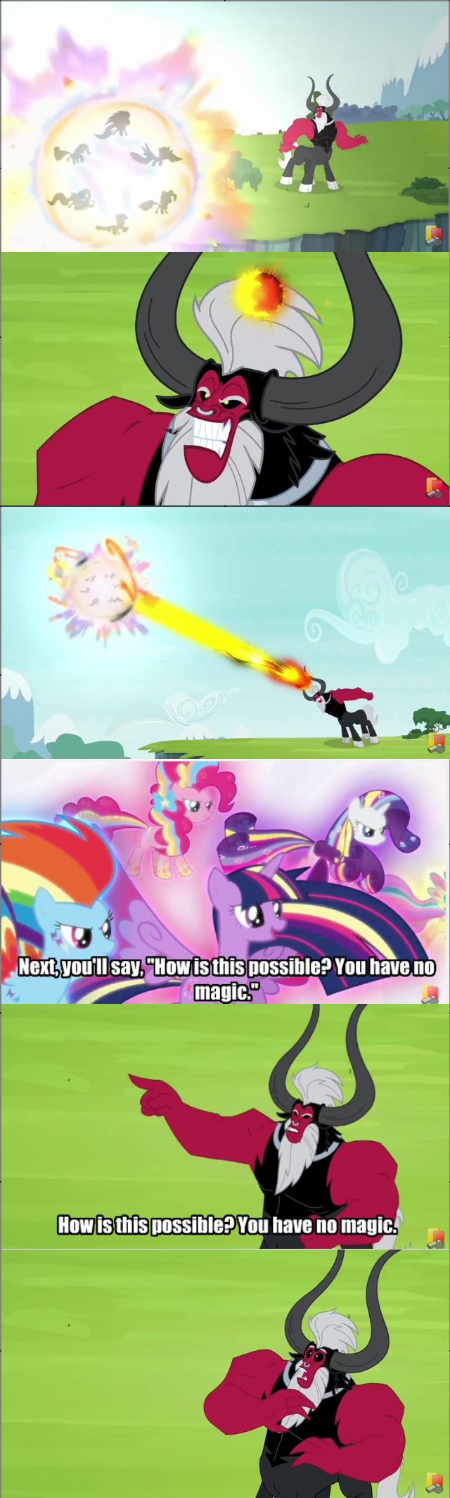 twilight sparkle tirek rainbow power twilight's kingdom mind reading - 8796957440