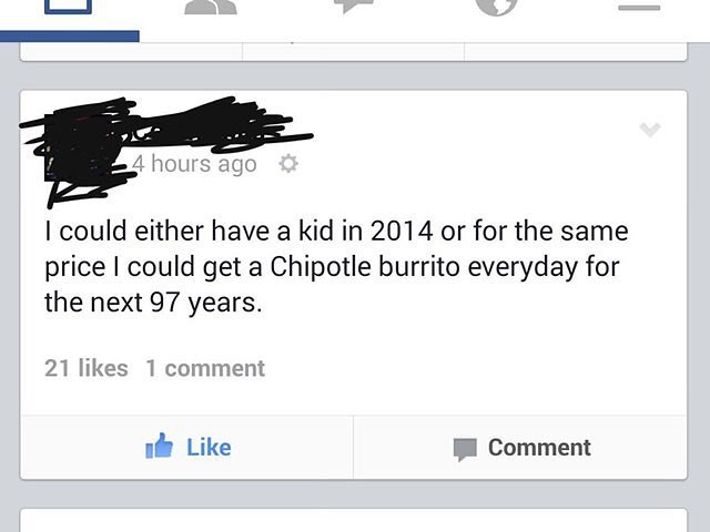 chipotle failbook facebook kids parenting - 8796963584