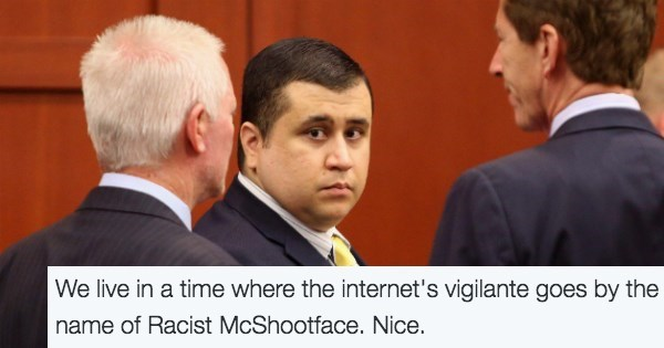 "image trolling news Someone Used the Name ""Racist McShootface"" to Troll George Zimmerman's Gun Auction"