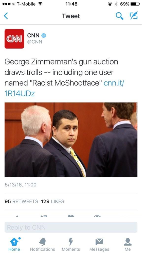 George Zimmerman racist twitter - 8796978944