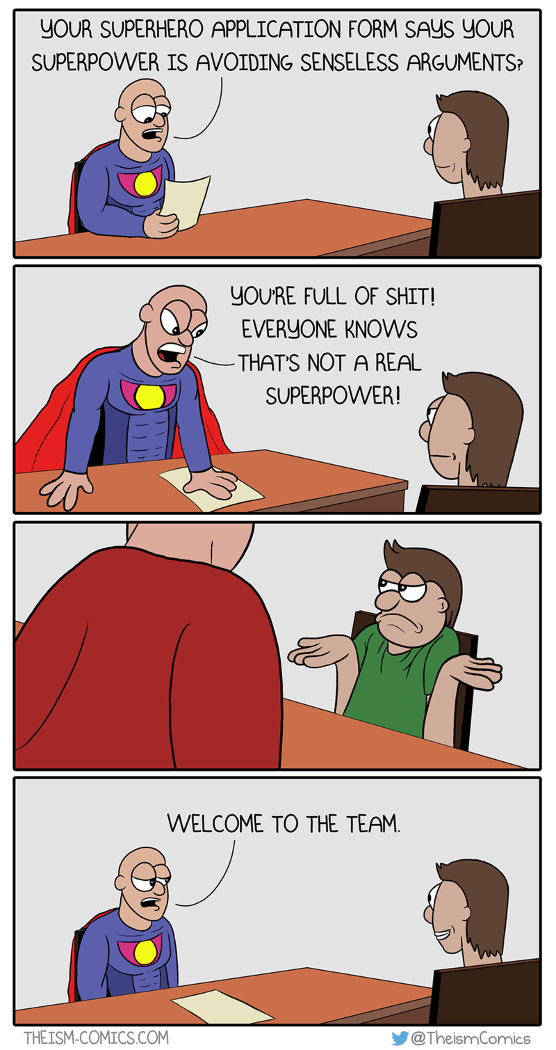 argument superheroes funny web comics - 8797071104