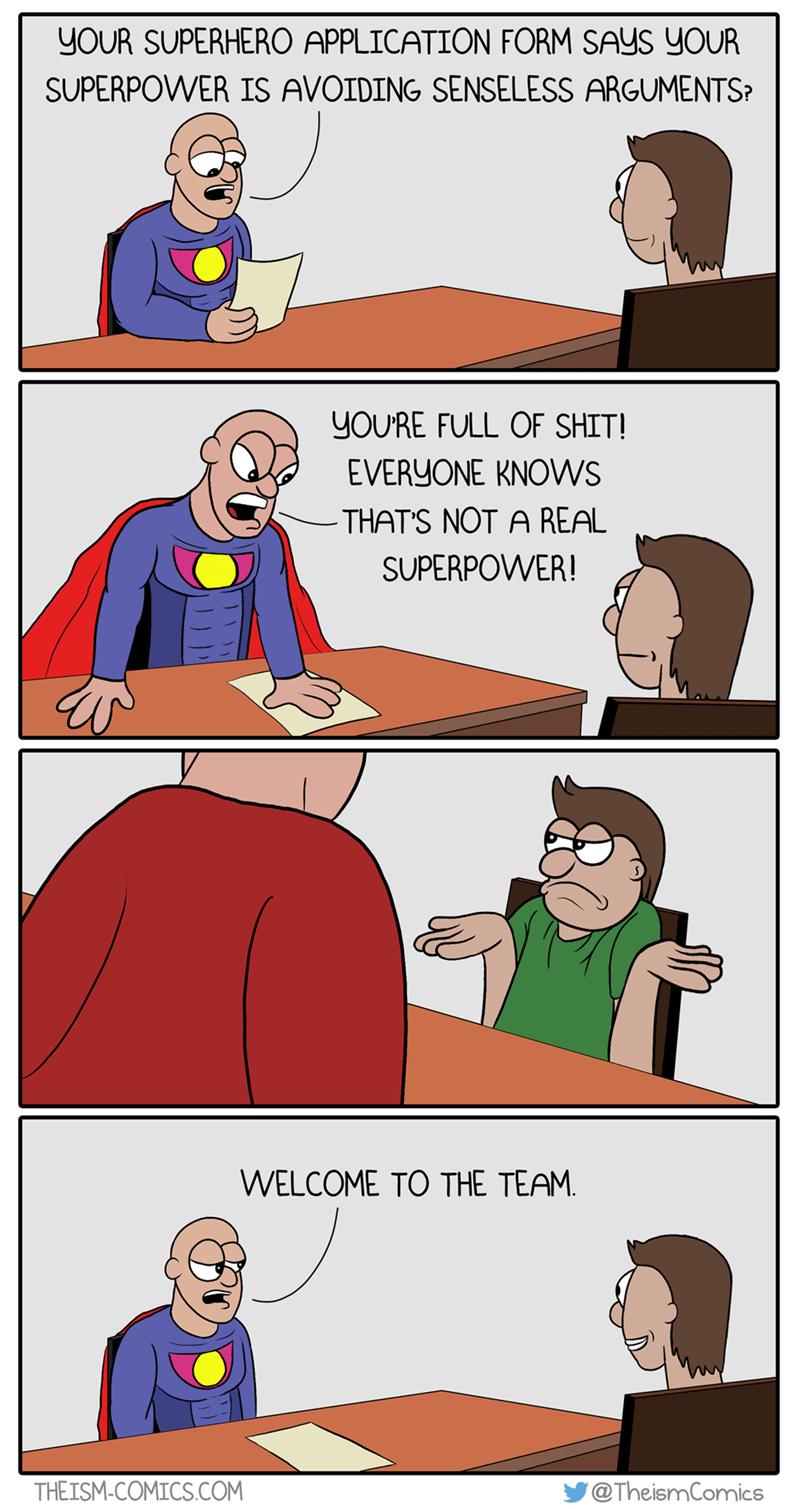 argument superheroes funny web comics - 8797071104