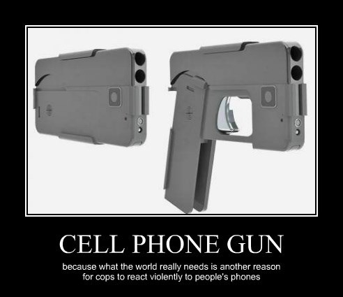 CELL PHONE GUN