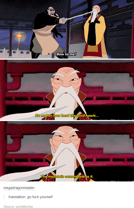epic mulan emperor cartoons insult - 8797400064