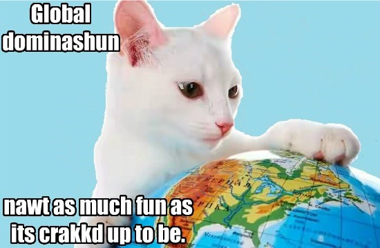 globe caption Cats - 8797421568