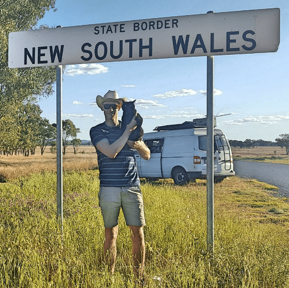 Signage - STATE BORDER NEW SOUTH WALES