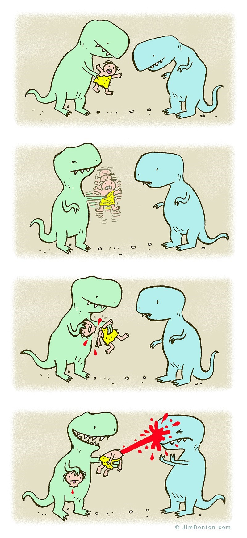 web-comics-dinosaur-carbon-dating-dark-humor-joke