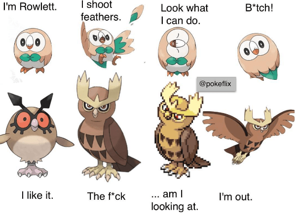 pokemon-logic-new-sun-and-moon-rowlet-starter-reaction