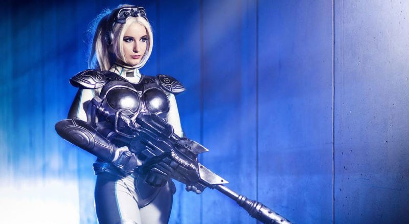 Starcraft Nova Cosplay Assembled to Perfection for a Direct Shot to the Feels Center