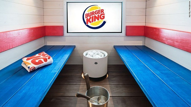 image brands spa Burger King Is Determined to Give You Meat Sweats in Their New Spa/Restaurant