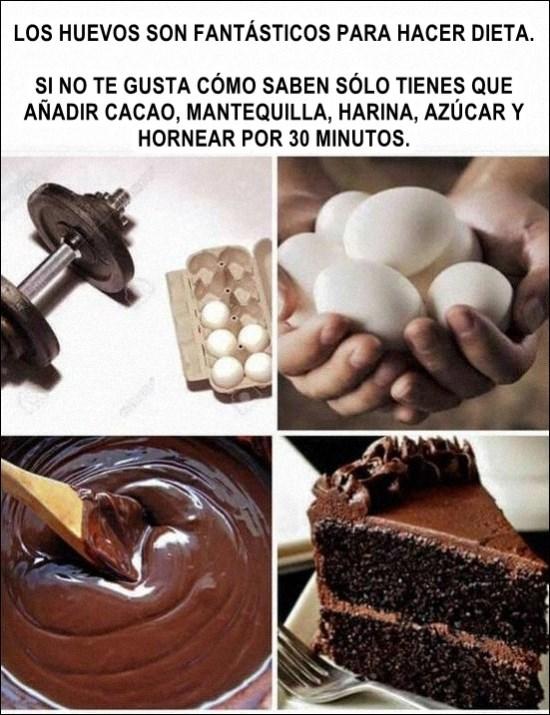 huevos y dieta