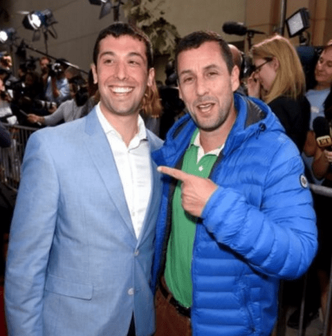 image adam sandler doppleganger Adam Sandler Found His Look-alike From a Picture on the Internet and Invited Him to a Movie Premier