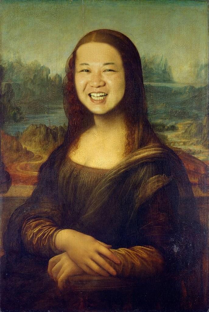 kim jong un - Painting
