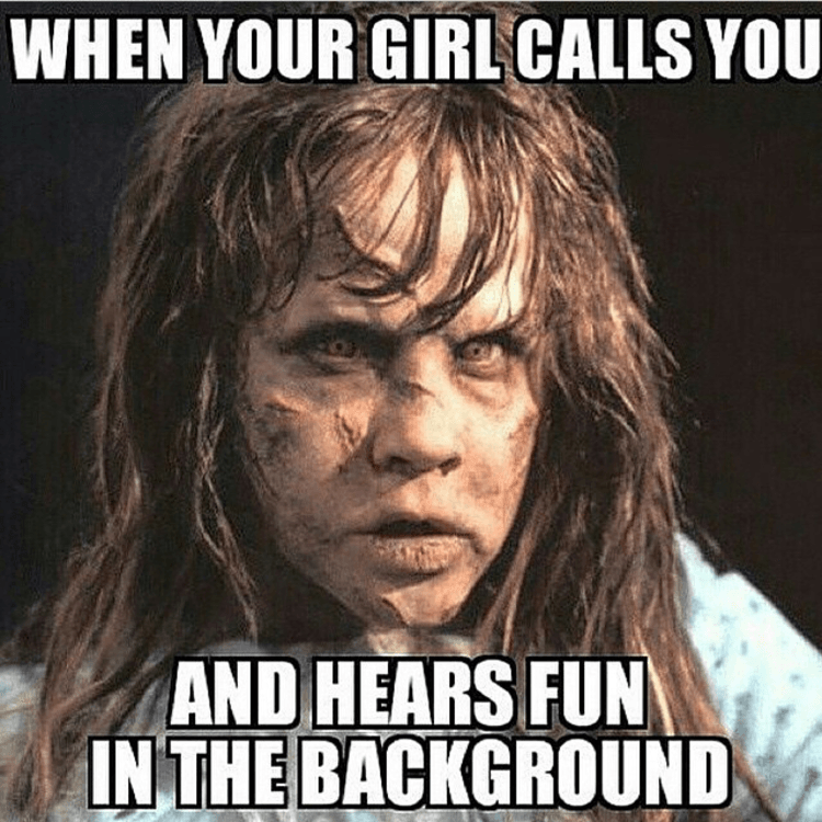 the exorcist Memes girlfriend dating - 8798194688