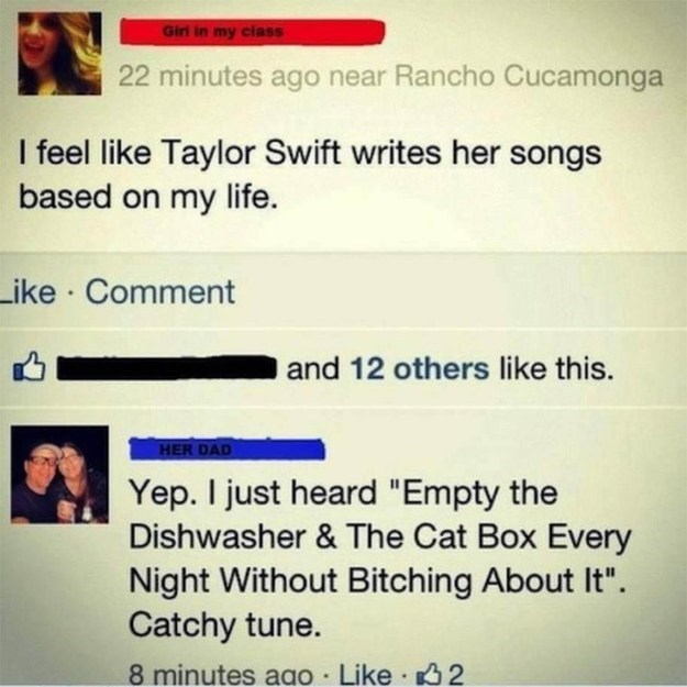 taylor swift failbook parenting facebook - 8798200832