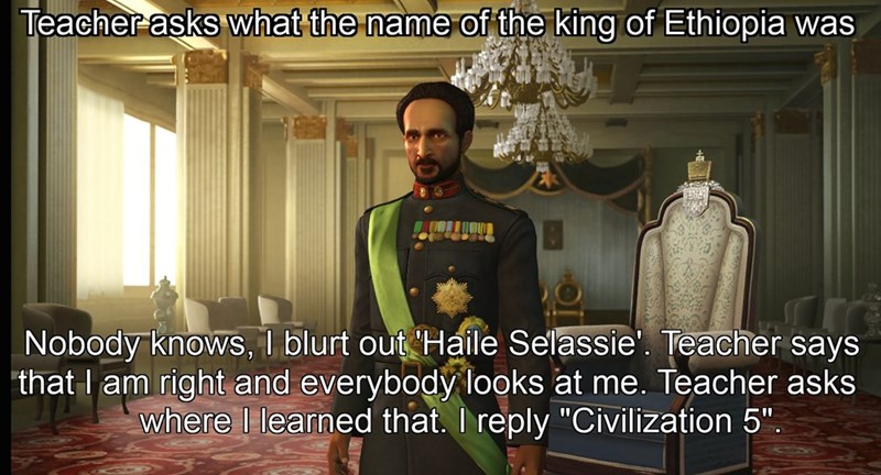 civilization 5 school video games video game logic funny - 8798288896