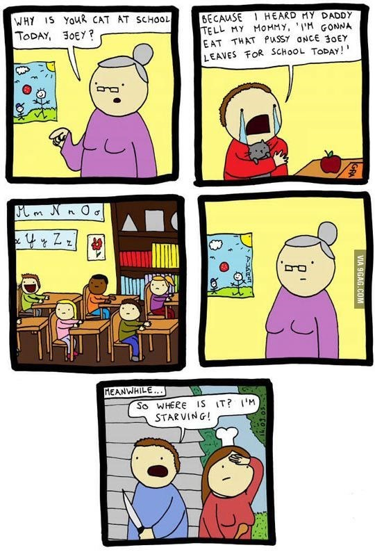 web-comics-funny-parents-miscommunication-cats-school