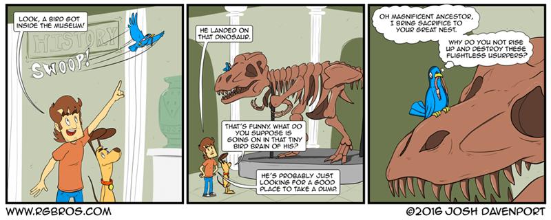web-comics-history-museum-dinosaurs-birds-funny