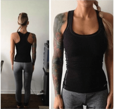 image facebook clothing A Scandalous Tank Top Got This Woman Kicked out of Her Gym