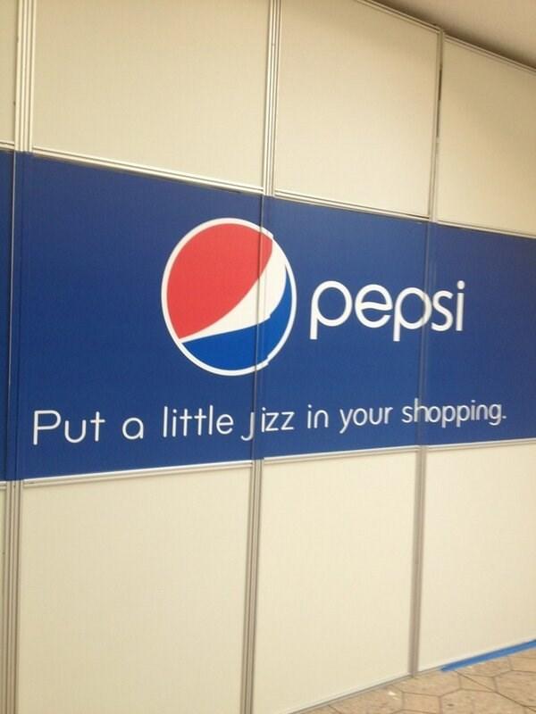image pepsi signs No Thank You, Pepsi