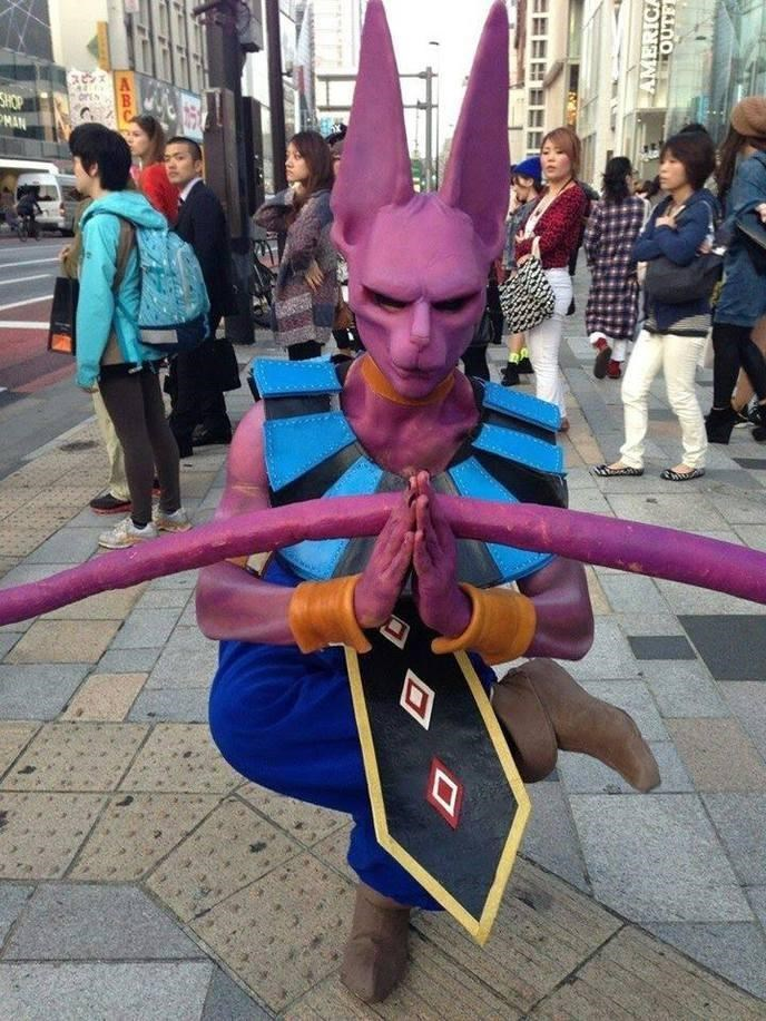 cosplay,anime,awesome,dragonball z,beerus