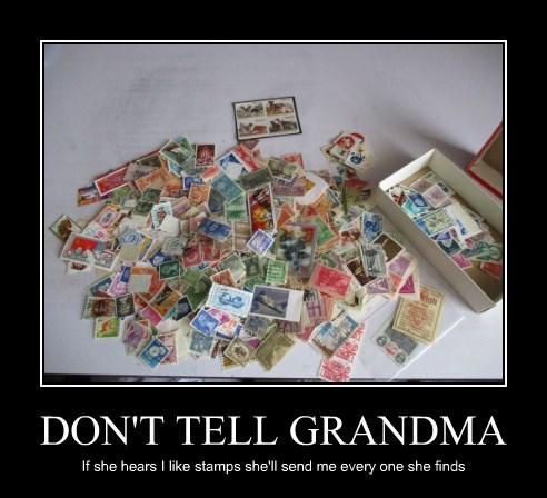 DON'T TELL GRANDMA