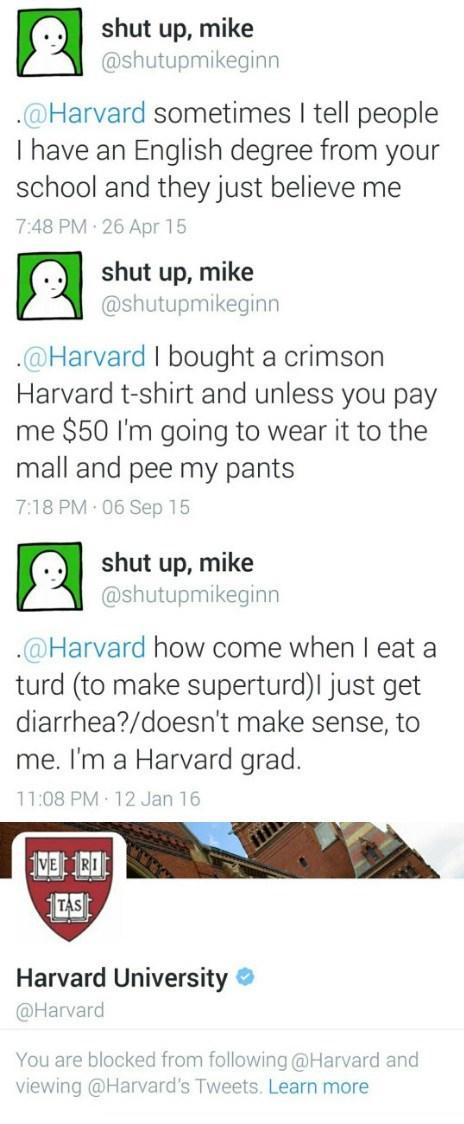 twitter,trolling,harvard