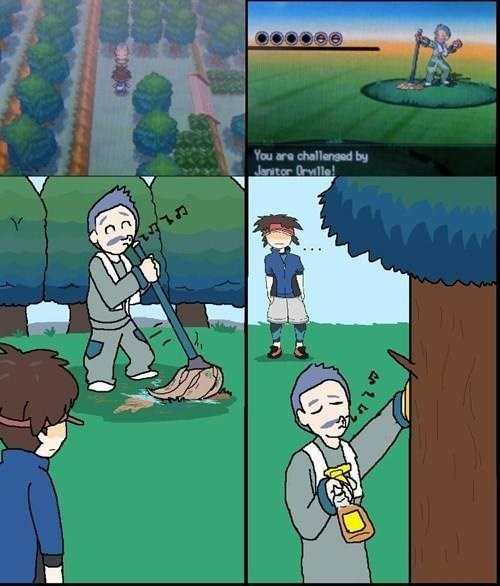 funny-pokemon-web-comic-battle-orville-janitor-cleaning