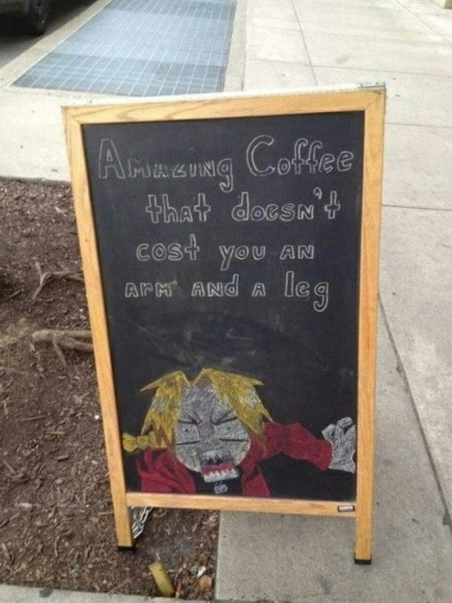 coffee-sign-edward-elric-funny-coffee-sign-fullmetal-alchemist