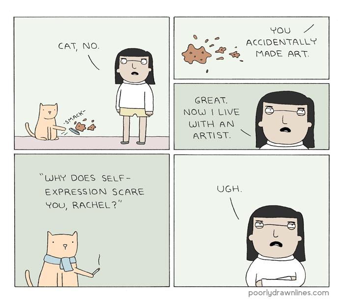 Cat-art-ic Relief