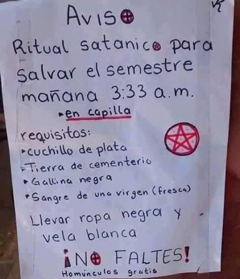 ritual satanico