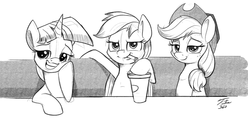 applejack,twilight sparkle,memebait,rainbow dash