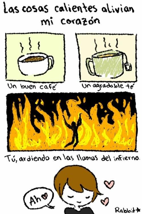 cosas calientes