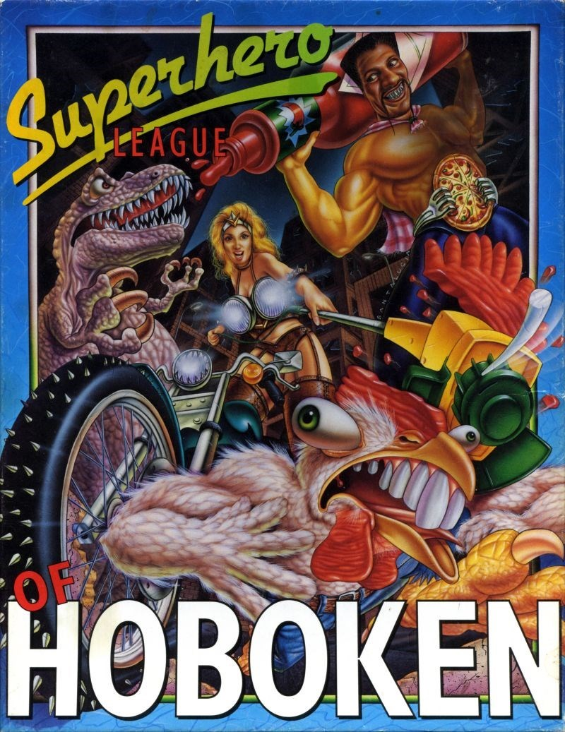 superhero league of hoboken legend entertainment video games - 8799184896