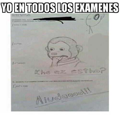 en todos los examenes