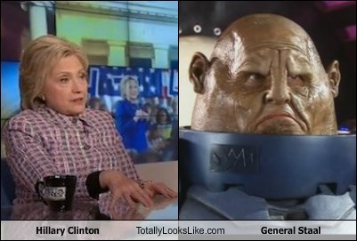 Hillary Clinton Totally Looks Like General Staal