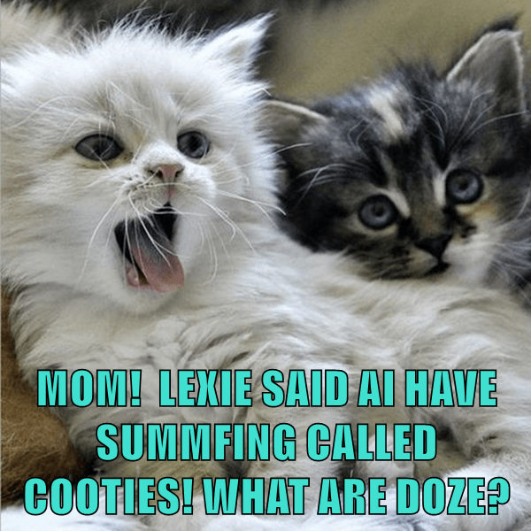 cooties,kitten,caption,Cats