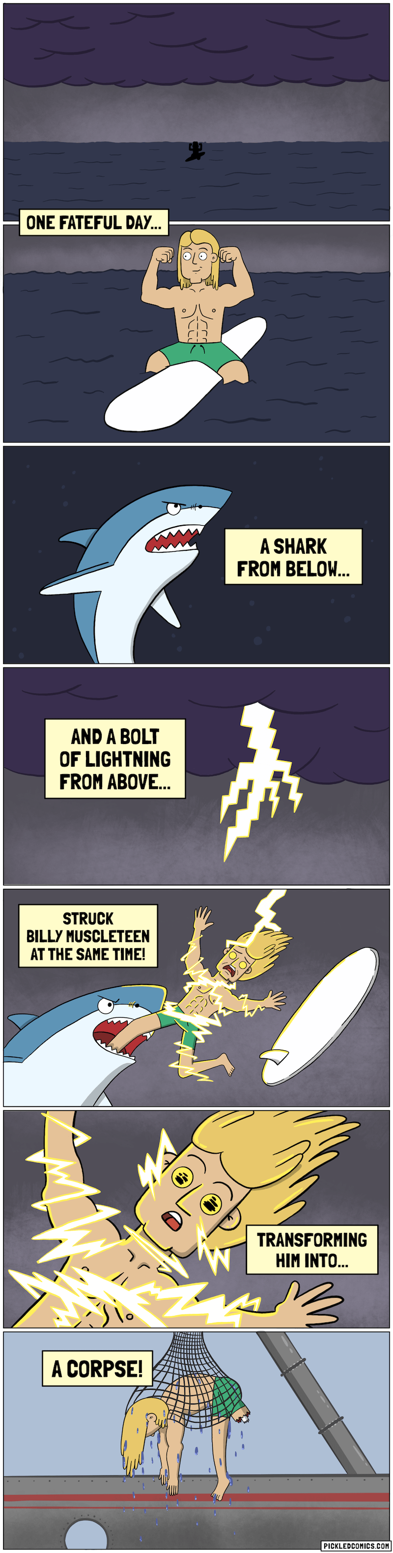 web-comics-when-the-lightning-shark-attack-doesnt-go-as-planned