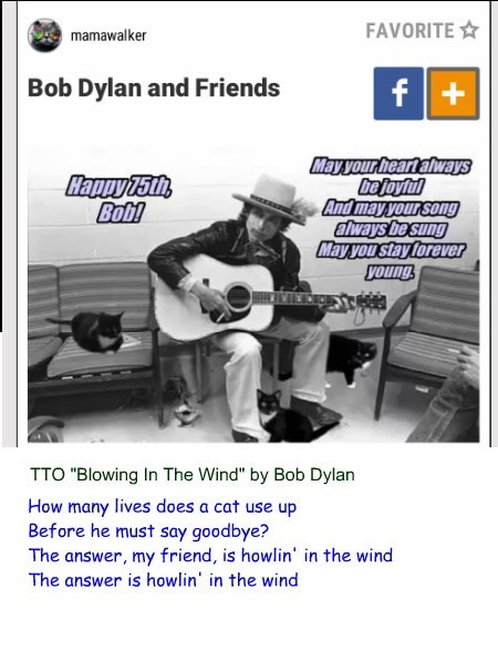 """""""Howling In The Wind"""" (TTO """"Blowing In The Wind"""" by Bob Dylan)"""