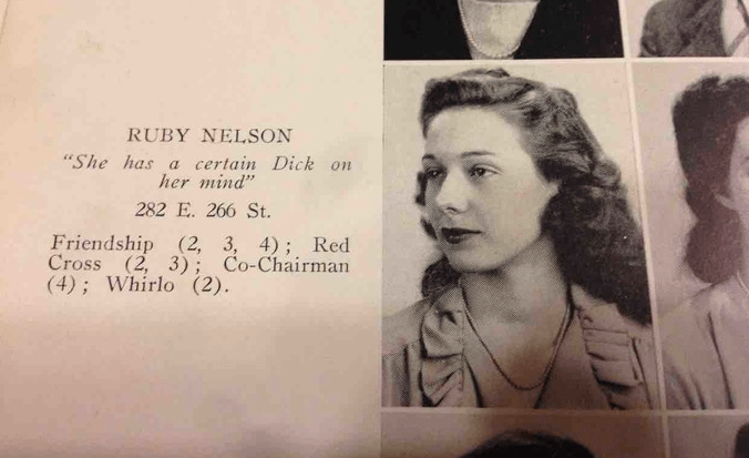 image old timey yearbook Your Grandparents Had Funny Yearbook Quotes Before You Were Born