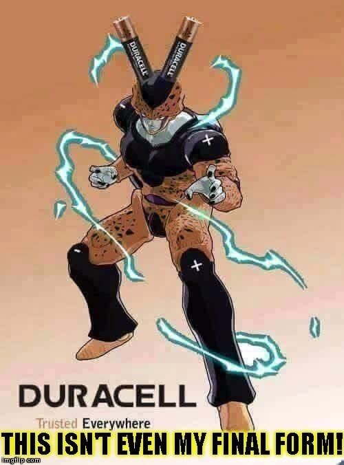 dragonball z battery manga funny - 8799642880