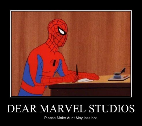 peter parker marvel Aunt May superheroes Spider-Man funny - 8799644672