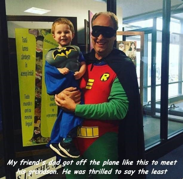 robin parenting Grandpa batman - 8799879424