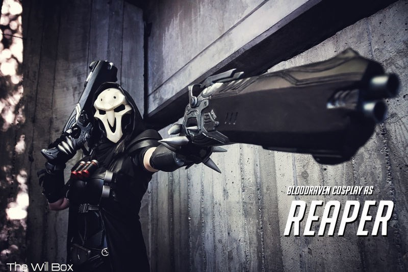 Batman - BLOODRAVEN COSPLAY AS REAPER The Will Box