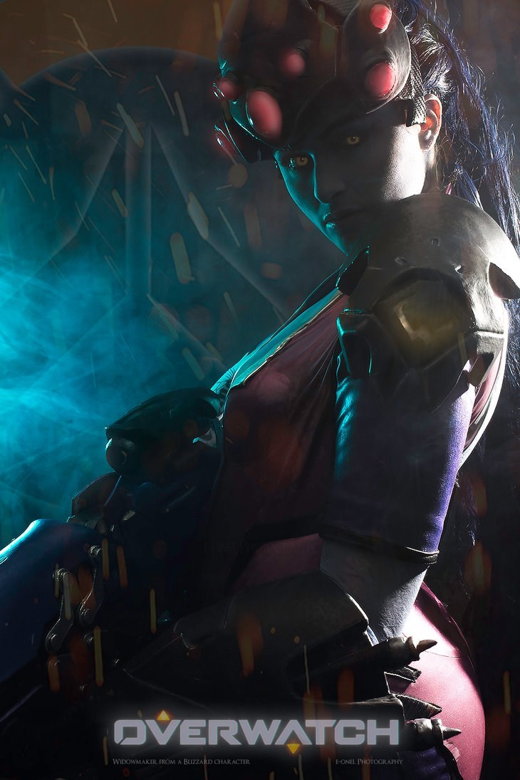 Fictional character - OVERWATCH WIDOWMAKER FROM A BLIZZARD CHARACTER FONEL PHOTOGRAPHY