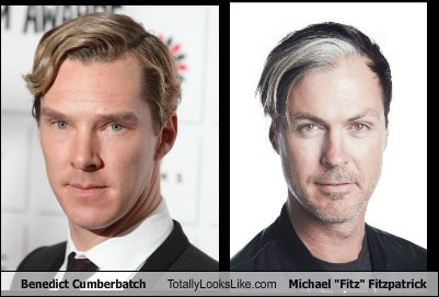 "Benedict Cumberbatch Totally Looks Like Michael ""Fitz"" Fitzpatrick"